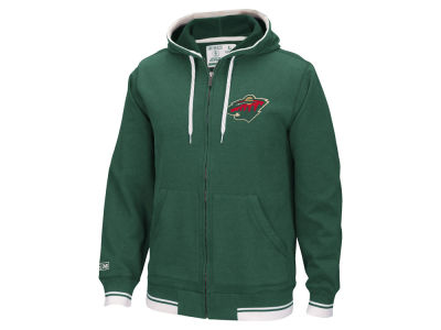 Minnesota Wild Reebok NHL Men's Full Zip Jacket