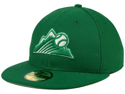 Colorado Rockies New Era MLB 2016 St. Patty's Diamond Era 59FIFTY Cap
