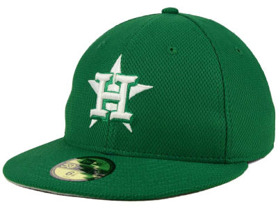 Houston Astros New Era MLB 2016 St. Patty's Diamond Era 59FIFTY Cap
