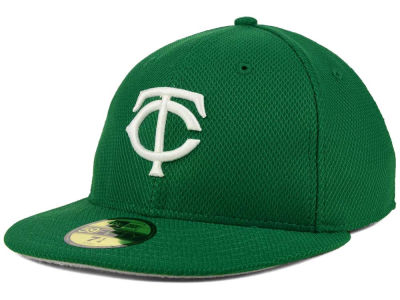 Minnesota Twins New Era MLB 2016 St. Patty's Diamond Era 59FIFTY Cap