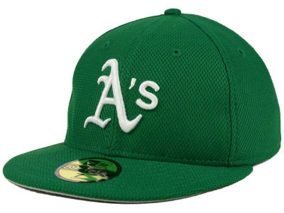 Oakland Athletics New Era MLB 2016 St. Patty's Diamond Era 59FIFTY Cap