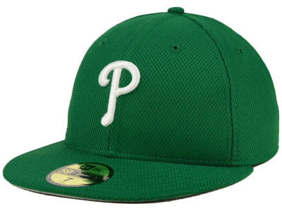 Philadelphia Phillies New Era MLB 2016 St. Patty's Diamond Era 59FIFTY Cap