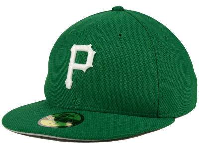 Pittsburgh Pirates New Era MLB 2016 St. Patty's Diamond Era 59FIFTY Cap