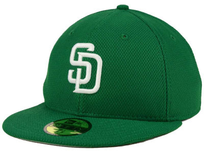 San Diego Padres New Era MLB 2016 St. Patty's Diamond Era 59FIFTY Cap