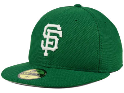 San Francisco Giants New Era MLB 2016 St. Patty's Diamond Era 59FIFTY Cap