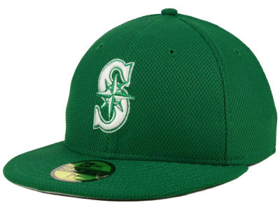 Seattle Mariners New Era MLB 2016 St. Patty's Diamond Era 59FIFTY Cap