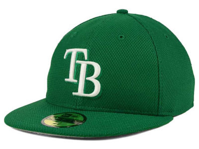 Tampa Bay Rays New Era MLB 2016 St. Patty's Diamond Era 59FIFTY Cap