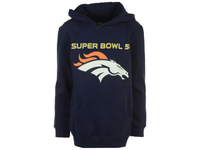 Denver Broncos Outerstuff NFL Youth Super Bowl 50 We're Going Hooded Sweatshirt