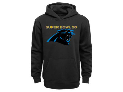 Carolina Panthers Outerstuff NFL Youth Super Bowl 50 Were Going Hooded Sweatshirt