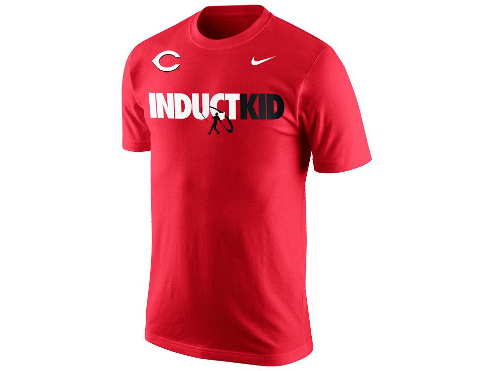 cincinnati reds ken griffey jr. nike mlb mens inductkid t shirt