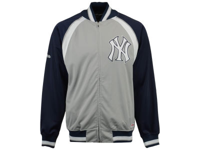 New York Yankees Mitchell and Ness MLB Men's Stitch Zip Track Jacket