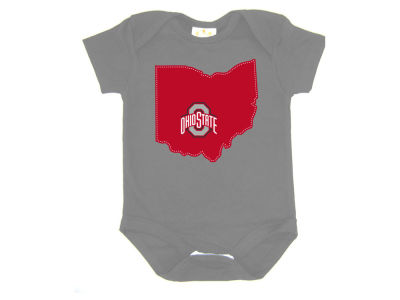 Ohio State Buckeyes NCAA Infant State Stitched Onesie