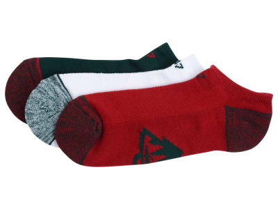Minnesota Wild '47 3-pack Blade Motion No Show Socks