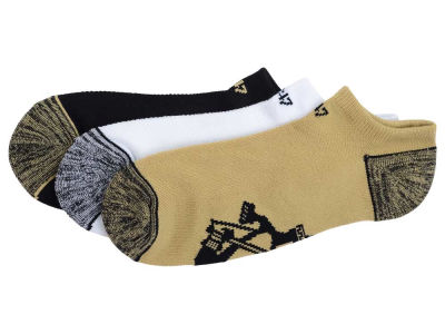 Pittsburgh Penguins '47 3-pack Blade Motion No Show Socks