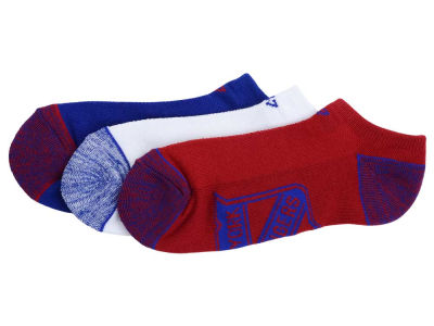 New York Rangers '47 3-pack Blade Motion No Show Socks