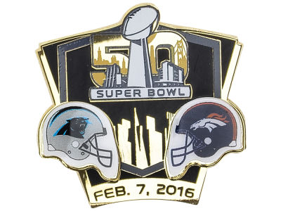Super Bowl 50 Super Bowl 50 Dueling Head To Head Pin