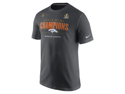 Denver Broncos Nike NFL Men's Super Bowl 50 Champ Locker Room T-shirt