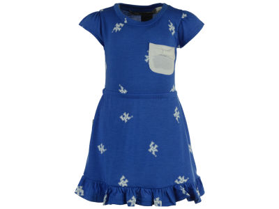 Kentucky Wildcats NCAA Infant Girls Cap Sleeve Ruffle Dress Set