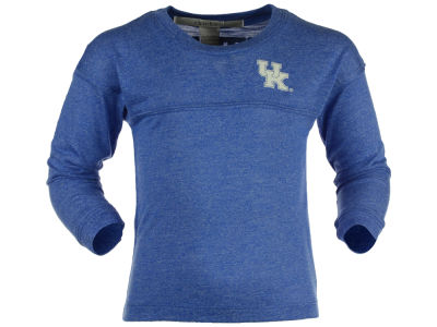 Kentucky Wildcats NCAA Youth Girls Varsity Long Sleeve Jersey T-Shirt