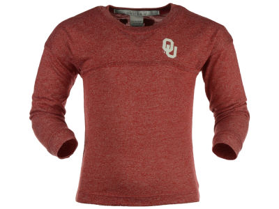 Oklahoma Sooners NCAA Youth Girls Varsity Long Sleeve Jersey T-Shirt