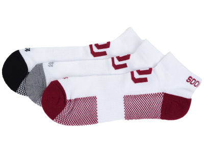 Oklahoma Sooners 3-pack Brink Motion Low Cut Socks