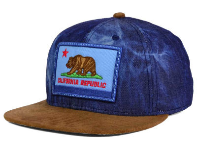 Official Cali Denim Suede Strapback Cap