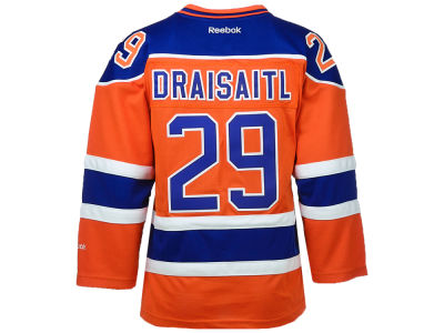 Edmonton Oilers Leon Draisaitl NHL CN Youth Premier Player Jersey
