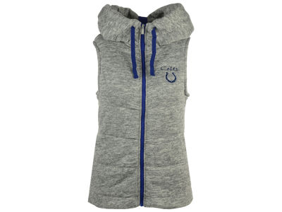 Indianapolis Colts Antigua NFL Women's Shutout Hooded Vest