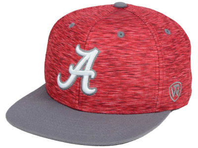 Alabama Crimson Tide Top of the World NCAA Energy 2Tone Snapback Cap