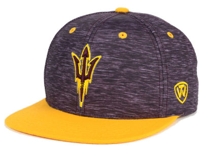 Arizona State Sun Devils Top of the World NCAA Energy 2Tone Snapback Cap