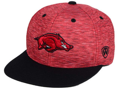 Arkansas Razorbacks Top of the World NCAA Energy 2Tone Snapback Cap