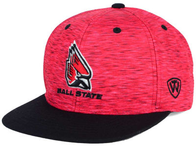 Ball State Cardinals Top of the World NCAA Energy 2Tone Snapback Cap