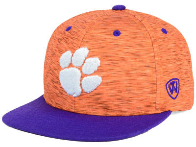 Clemson Tigers Top of the World NCAA Energy 2Tone Snapback Cap