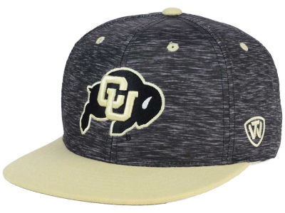 Colorado Buffaloes Top of the World NCAA Energy 2Tone Snapback Cap
