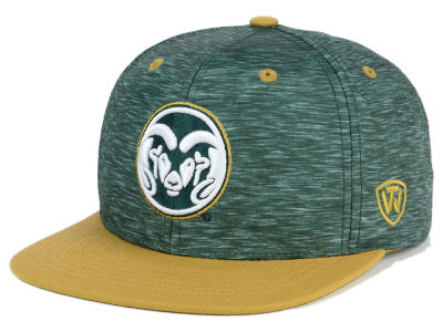 Colorado State Rams Top of the World NCAA Energy 2Tone Snapback Cap