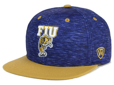Florida International Golden Panthers Top of the World NCAA Energy 2Tone Snapback Cap