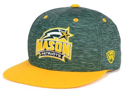 George Mason Patriots Top of the World NCAA Energy 2Tone Snapback Cap