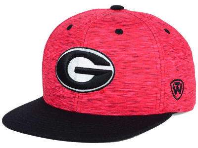 Georgia Bulldogs Top of the World NCAA Energy 2Tone Snapback Cap