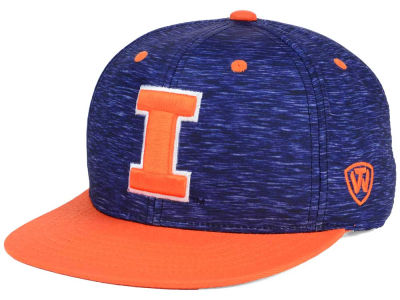 Illinois Fighting Illini Top of the World NCAA Energy 2Tone Snapback Cap