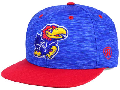 Kansas Jayhawks Top of the World NCAA Energy 2Tone Snapback Cap