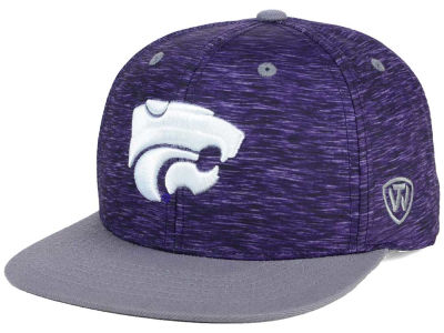Kansas State Wildcats Top of the World NCAA Energy 2Tone Snapback Cap