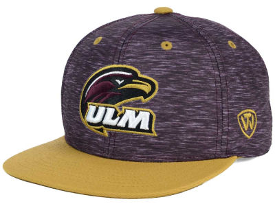 LA Monroe Warhawks Top of the World NCAA Energy 2Tone Snapback Cap