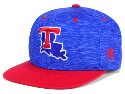 Louisiana Tech Bulldogs Top of the World NCAA Energy 2Tone Snapback Cap