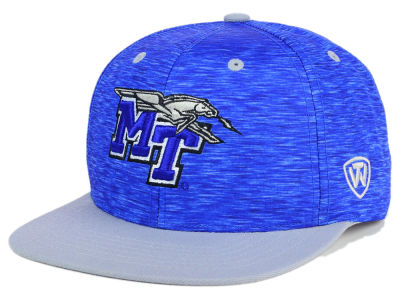 Middle Tennessee State Blue Raiders Top of the World NCAA Energy 2Tone Snapback Cap
