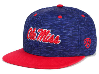 Ole Miss Rebels Top of the World NCAA Energy 2Tone Snapback Cap
