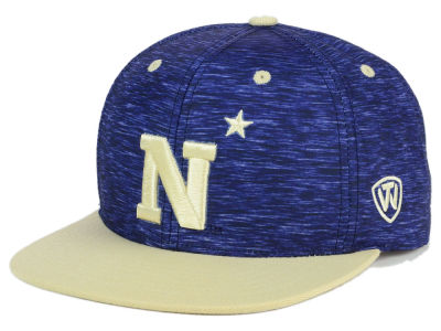 Navy Midshipmen Top of the World NCAA Energy 2Tone Snapback Cap