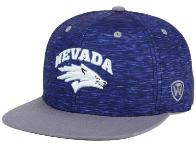 Nevada Wolf Pack Top of the World NCAA Energy 2Tone Snapback Cap