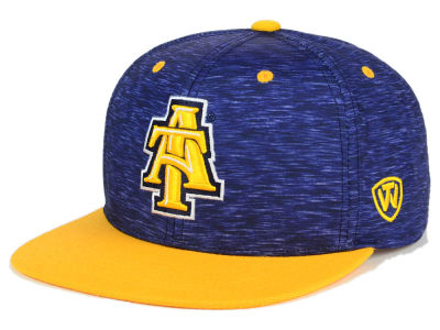 North Carolina A&T Aggies Top of the World NCAA Energy 2Tone Snapback Cap