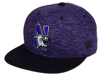 Northwestern Wildcats Top of the World NCAA Energy 2Tone Snapback Cap