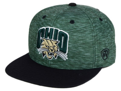 Ohio Bobcats Top of the World NCAA Energy 2Tone Snapback Cap